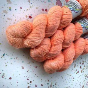 Trinity 2ply - Peach Marguerite