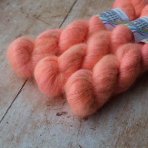 Abbey Lace - Peach Marguerite